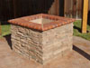 We can build many decorative features from brick, stone, treated lumber or a host of other materials.